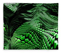Dragon Skin Fleece Blanket