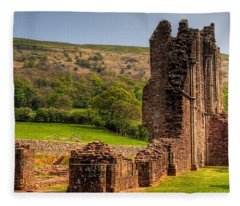 Llanthony Priory Fleece Blanket