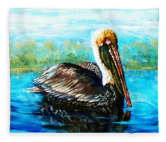 L'observateur Fleece Blanket