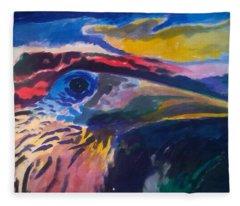 L'occhio Del Tucano Fleece Blanket