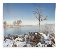 Loch Ba Winter Fleece Blanket