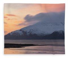 Loch Linnhe - Scotland Fleece Blanket