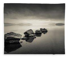 Loch Lomond Dawn Fleece Blanket