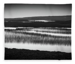 Loch Na Maracha, Isle Of Harris Fleece Blanket