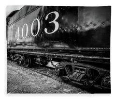 Locomotive Engine Fleece Blanket