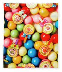 Lolly Shop Pops Fleece Blanket