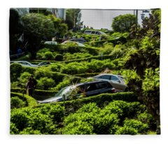Lombard Street Fleece Blanket