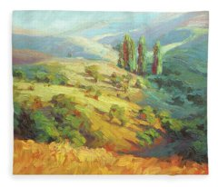 Lombardy Homestead Fleece Blanket