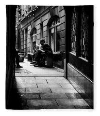London Backstreet Alley Fleece Blanket
