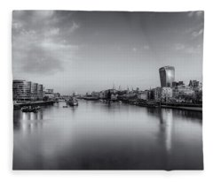 London Panorama Fleece Blanket