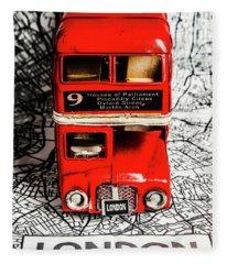 London Tours Fleece Blanket