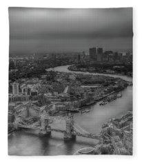London's Calling Fleece Blanket