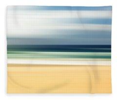 Lone Beach Fleece Blanket