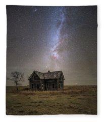 Lonely House Fleece Blanket
