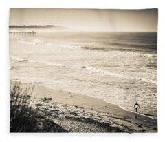 Lonely Pb Surf Fleece Blanket