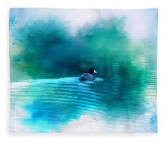 Lonely Without You Fleece Blanket