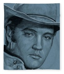 Lonesome Cowboy Fleece Blanket