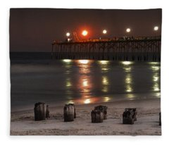 Long After Dark Fleece Blanket