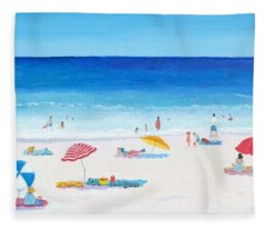 Long Hot Summer Fleece Blanket