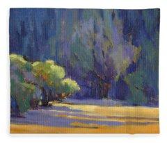 Long Shadows Fleece Blanket