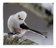 Long-tailed Look Fleece Blanket