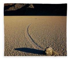 Long Tracks Fleece Blanket