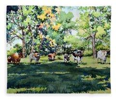 Longhorns Fleece Blanket