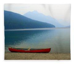 Lonly Canoe Fleece Blanket