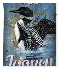Lonney Bin Sign Fleece Blanket