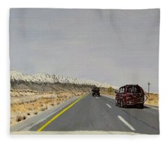 Look For America Fleece Blanket