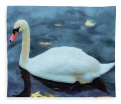 Look For Beauty And You Will Find It Fleece Blanket