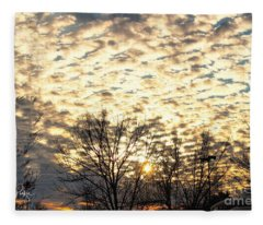 Look To The Sky Fleece Blanket