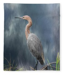 Looking For Food Fleece Blanket