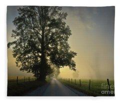 Loop Rd Sunrise Fleece Blanket