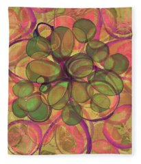 Loopy Dots #20 Fleece Blanket