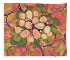 Loopy Dots #21 Fleece Blanket