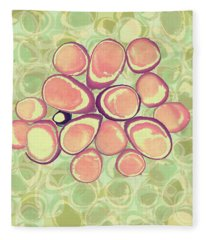 Loopy Dots #6 Fleece Blanket