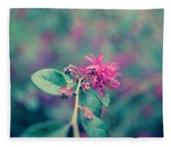 Lorapetalum Fleece Blanket