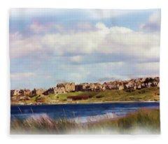 Lossiemouth Bay Fleece Blanket