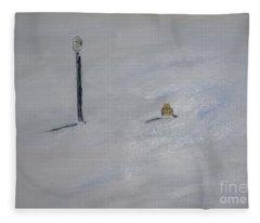 Lost Fire Hydrant Fleece Blanket