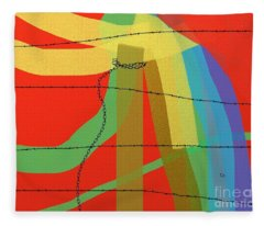Lost Freedom Fleece Blanket
