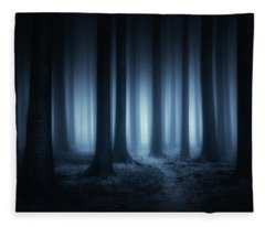 Lost In The Forest Fleece Blanket
