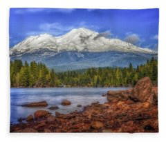Lost In The Moment Fleece Blanket