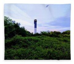 Lost Lighthouse Fleece Blanket