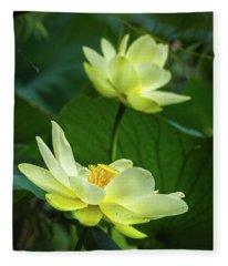 Lotus Lovelies Fleece Blanket