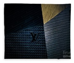 Louis Vuitton At City Center Las Vegas Fleece Blanket