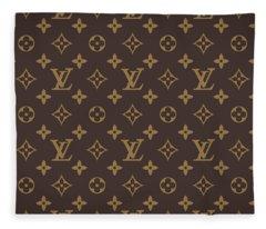 Louis Vuitton Texture Fleece Blanket