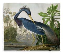 Audubon Fleece Blankets