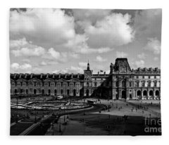 Louvre Museum Fleece Blanket
