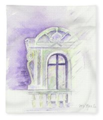 Louvre Window Fleece Blanket